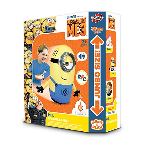 Universal Minions Despicable Me 3 R/C Inflatable Mini Minion Mel Remote Controlled Doll