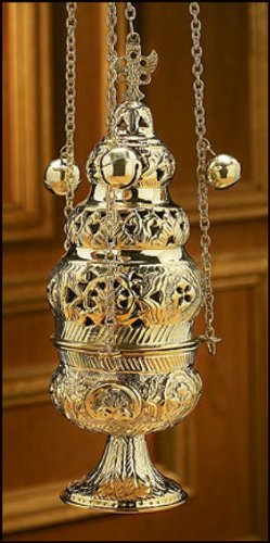 Ornate Censer with 12 Bells by Autom
