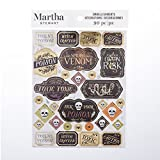 Martha Stewart Halloween Stickers with Foil Accents