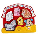 Fisher-Price Laugh & Learn Farm Animal Puzzle-English