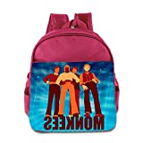 Yesher Kid's Bags - Fashion American Rock Band Toddler Backpack School Backpack For 3 - 6 Years Child Boys Girls Pink