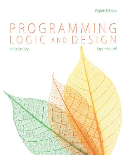 Download Programming Logic and Design, Introductory Pdf