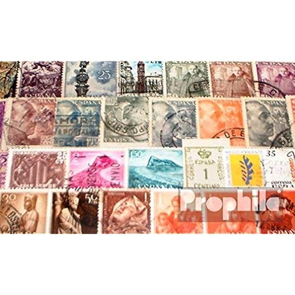 Prophila Collection España 100 Diferentes Sellos (Sellos para los ...
