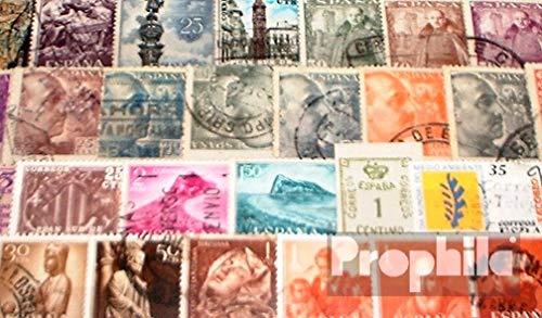 Prophila Collection Espa/ña 50 Diferentes Sellos espa/ñolas Colonias con Estados Independientes Sellos para los coleccionistas