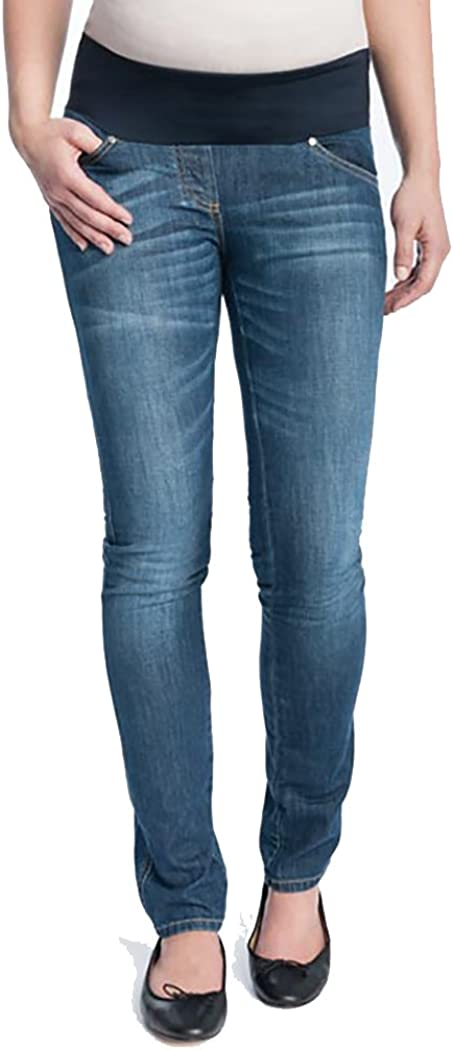 Christoff Umstandshose Jeans Superstretch Midbelly 100//89
