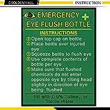 CGOLDENWALL Emergency Eye Wash Station Portable