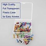 VTurboWay 8 Color 48 PCS, Cable End Crimps, Bike