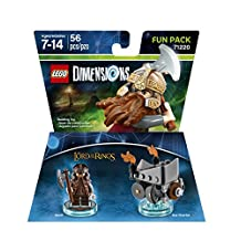 Warner Bros Lego Dimensions LOTR Gimli Fun Pack - Lord Of The Rings Gimli Fun Pack Edition