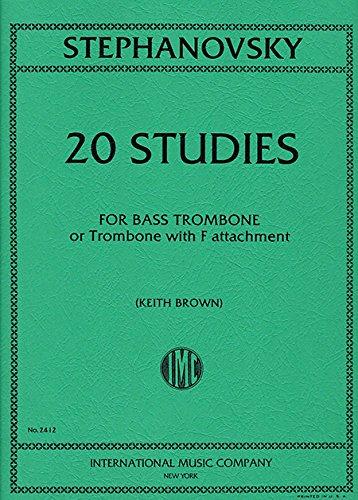 STEPHANOVSKY K. - Estudios para Trombon Bajo en Fa (Tuba) (Brown) PDF