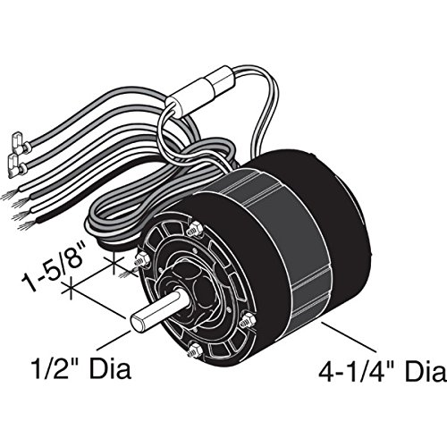 Item252511 a o smith century 4 5 16 1 15 1 40 horse for Fujitsu mini split fan motor replacement