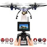 Owill JXD 506G 2.4G 6-Axis Gyro 5.8G FPV RC Quadcopter Drone With 720P HD Camera/Selfie Any Image For You (Black B)