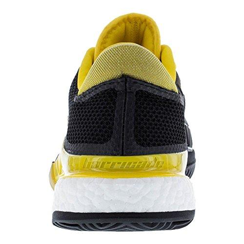 Adidas Barrikade 2017 Boost Sko Mænds Tennis Kerne Sort / Hvid / Hestesport Gul E6poOS