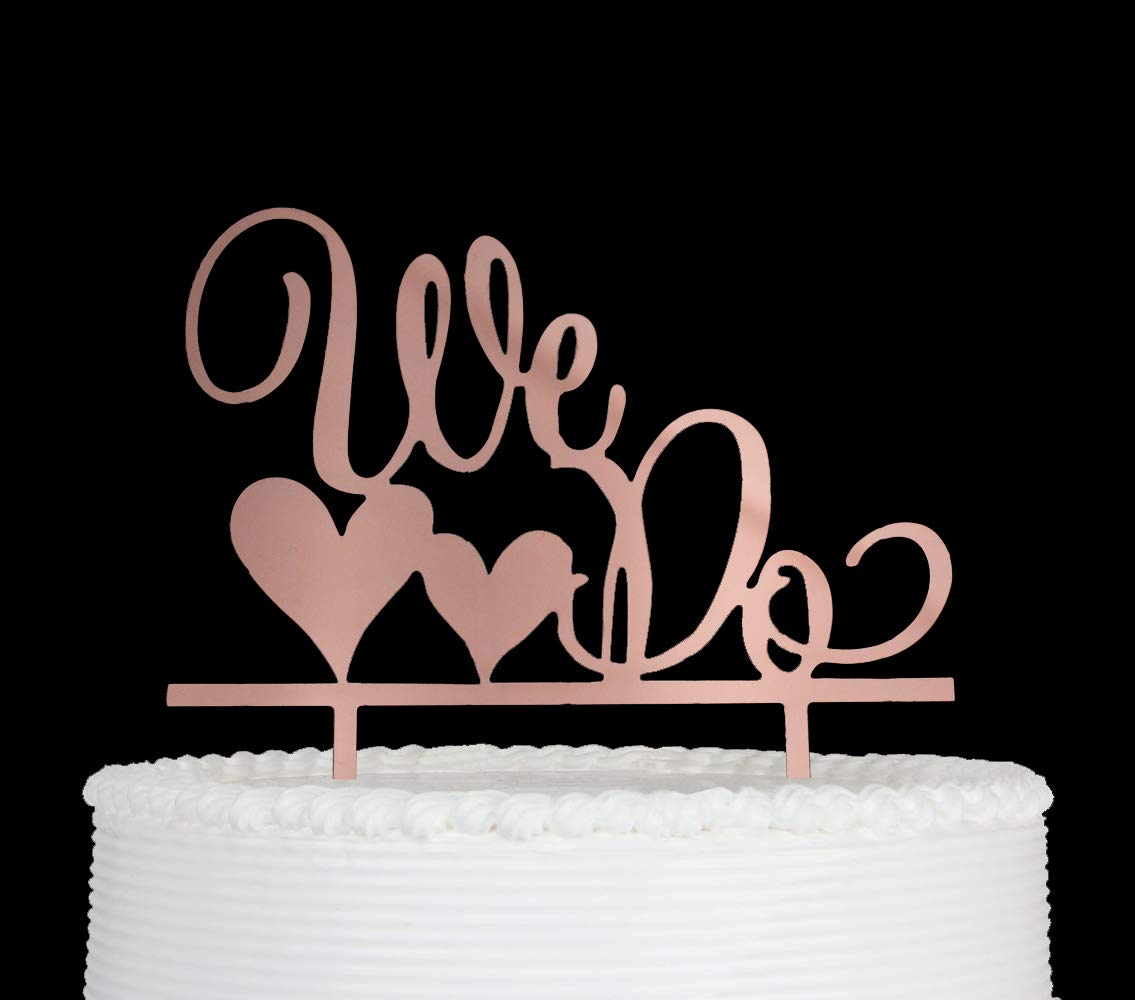 zxyxka Rose Gold Forever /& Always Cake Topper Happily Ever After We re Engaged Wedding Anniversary Engagement Bridal Shower Cake Decoration