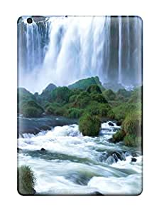 Amanda W. Malone's Shop Awesome Defender Tpu Hard Case Cover For Ipad Air- Iguazu Waterfalls