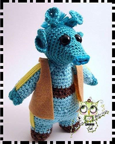 JAR JAR STAR WARS AMIGURUMI PERSONALIZABLE (Bebé, crochet, ganchillo, muñeco, peluche