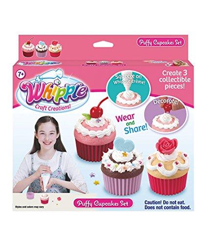 Whipple Puffy Cupcake Set -