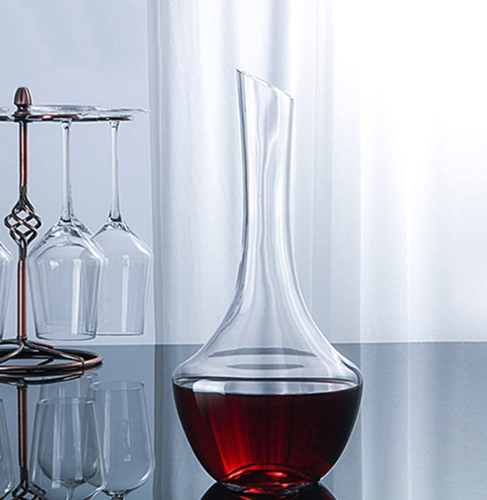XINGUANG 1.45L Wine Decanter Red Wine Fast Decanter Crystal Glass ...