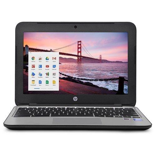 2018 HP Chromebook 11 G3 11.6-inch Intel Celeron N2840 4GB 16GB SSD...