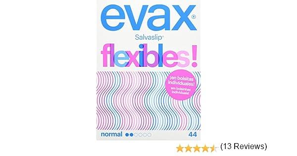 EVAX - Salvaslip flexibles en bolsitas individuales, caja de 44 ...