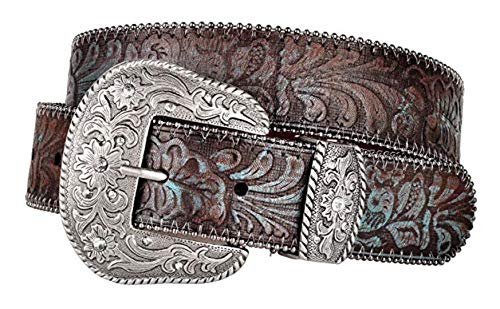 Western Scroll Buckle With...