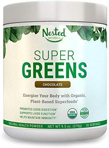 Superfood Chocolate Spirulina Chlorella Probiotics product image