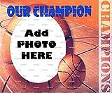 1/2 Sheet - Basketball Birthday - Cake Photo Frame - Edible Cake/Cupcake Topper!!!