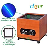 Cheap Clevr 8 Stage Ozone Generator Air Purifier, 1000 Square Feet Coverage for Home and Office Use, with Filter/Ozone/Ionic/UV/Plasma, Allergies allergen Reducer | 1 Year Limited Warranty