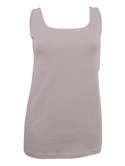 4bfea2bd9ea Style   Company  15 Womens New 1252 Beige Scoop Neck Sleeveless Top ...