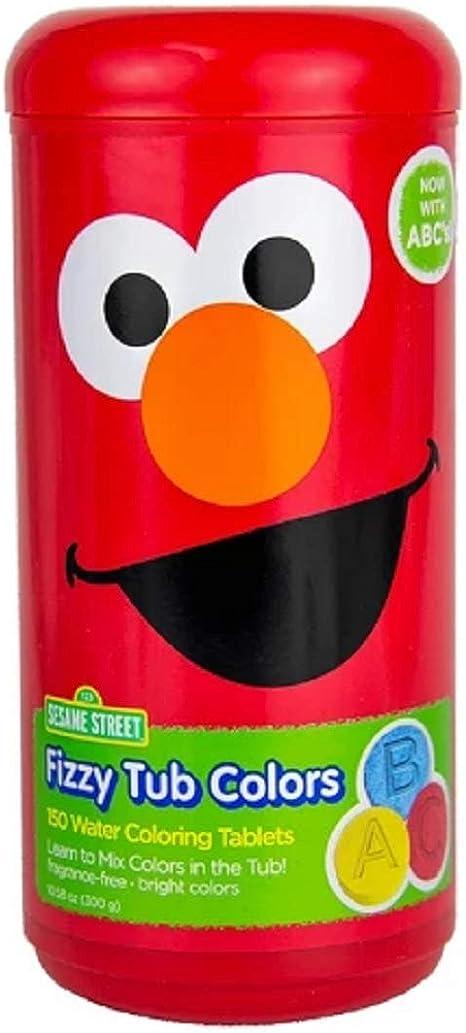 Amazon.com: Sesame Street Fizzy Tub Color Tablets - 10.58 Oz.: Health &  Personal Care