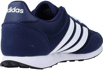 adidas V Racer 2.0, Zapatillas de Running para Hombre, Azul (Dark Blue/FTWR White/FTWR White Dark Blue/FTWR White/FTWR White), 38 2/3 EU: Amazon.es: Zapatos y complementos