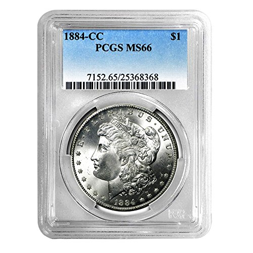 1884 CC Morgan Dollar $1 MS-66 PCGS