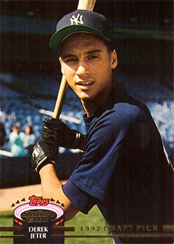 1993 Topps Stadium Club Murphy Baseball #117 Derek Jeter Rookie Card