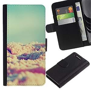 Graphic Case / Wallet Funda Cuero - Beach Summer Sun Vignette - Sony Xperia Z1 Compact D5503