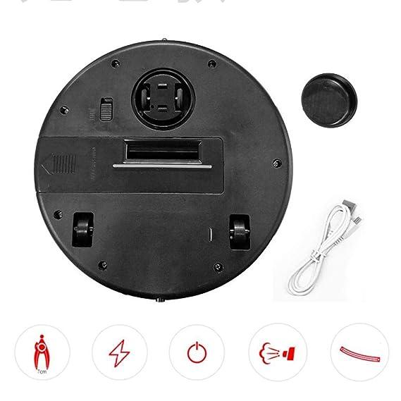 YENJOS Limpiadores de aspiradoras robóticas, Limpiador Inteligente Inteligente Sweeper Pro Máquina de Limpieza automática de aspiradoras robóticas Ideal ...