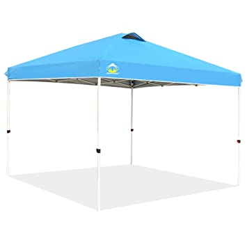 CROWN SHADES 10ft x 10ft Outdoor Pop up Portable Shade Instant Folding Canopy with Carry Bag  sc 1 st  Amazon.com & Amazon.com : CROWN SHADES 10ft x 10ft Outdoor Pop up Portable ...