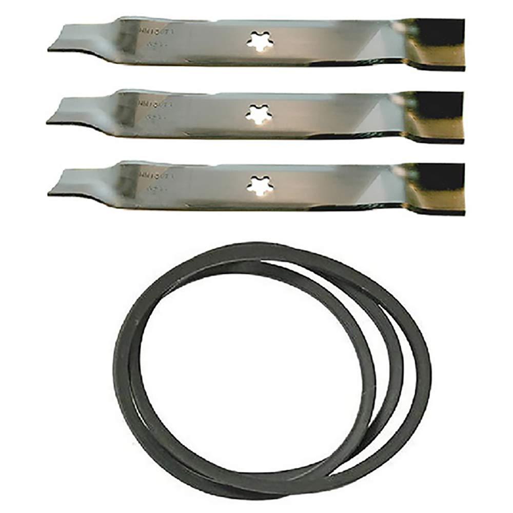 """3 Blades 532159705 = 532176084 fits all 3 bladed Husqvarna 46/"""" mower decks"""
