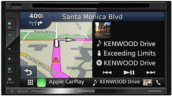 Kenwood 019048221704 DNX575S in-Dash Multimedia Receiver with Navigation
