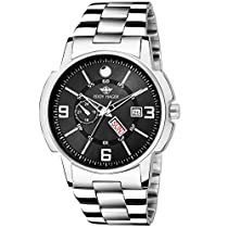 Eddy Hager Black Day and Date Men's Watch EH-226-BK