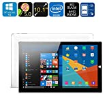Onda Obook 20 Tablet PC - Windows 10 + Android 5.1 OS, Intel Atom Quad Core CPU, 4GB RAM, 10.1 Inch HD Display, 6000mAh Battery