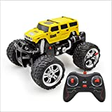 Kikioo Bigfoot 2.4GHZ Remote Control Off-Road Vehicle - 4WD RC Car Beginner SUV Jeep RCCAR 360°Rotation Stunt Drift Speed Buggy All Terrain Monster Truck 3 Years Old Children's Birthday Present Red