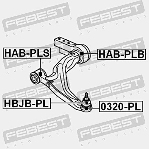 BALL JOINT FRONT LOWER ARM Febest 0320-PL