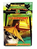 32 Kung Fu Panda 3 Valentine Classroom Sharing Cards with Stickers