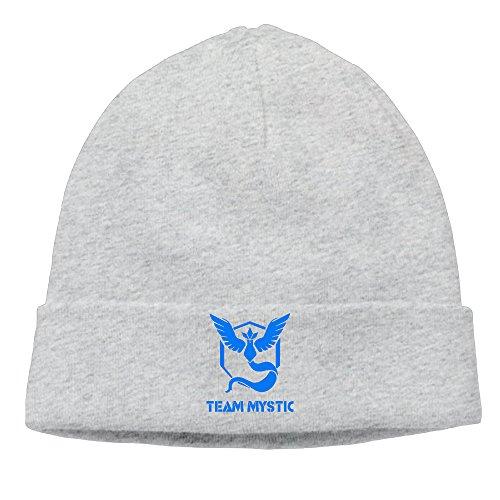 EWIED Men's&Women's Pokemon Go TEAM MYSTIC Patch Beanie JoggingAsh Cap Hat For Autumn And - Denver Store Oakley