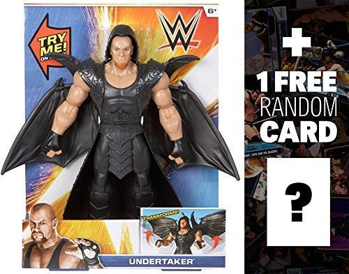 "Undertaker: ~12"" Action Figure: WWE FlexForce Figure + 1 FREE Official WWE Trading Card Bundle"