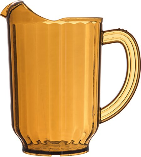 Carlisle 554013 Restaurant Style Pitcher, 60 oz, Amber (Pack of -