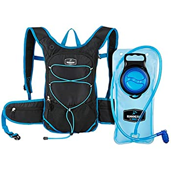 Running Bag Max Hydration Backpack With 2L Bladder and Thermal Insulated Pocket Keeps Water or Other Liquids Cool up to 4 Hours for Running, Hiking, ...