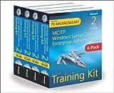 MCITP Windows Server 2008 Enterprise Administrator Training Kit 4-Pack (2nd Edition): Exams 70-640, 70-642, 70-643, 70-647 (Microsoft Press Training Kit)