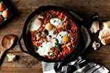 FS-Kitchen-Pre-Seasoned-Cast-Iron-Cookware-Pan-125-Inch