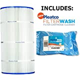 Pleatco Cartridge Filter PA90 90sqft Hayward C900 CX900RE Sta-Rite PXC-95 w/ 1x Filter Wash