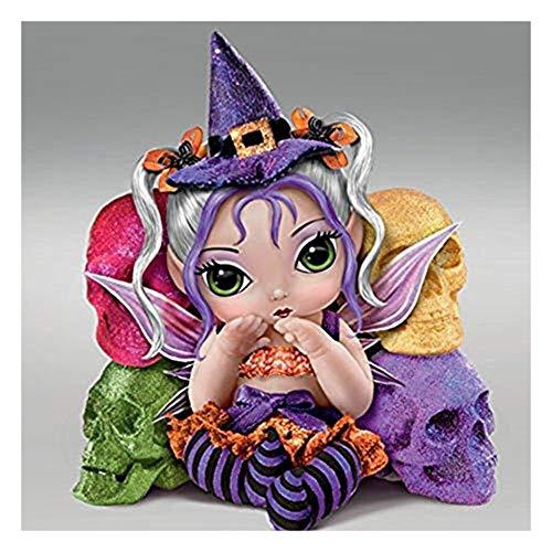 The Bradford Exchange Trick Or Sweet Spell Dolls By Jasmine -